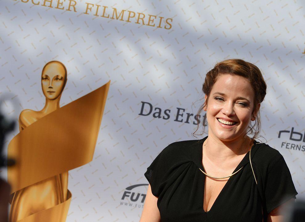 Deutscher-Filmpreis-Lola-Muriel-Baumeister-140509-dpa - Bildquelle: dpa