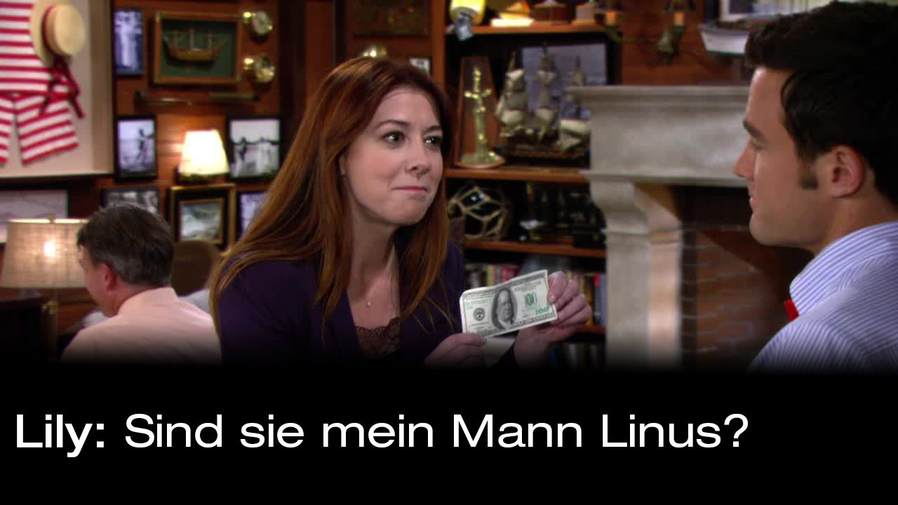 How-I-Met-Your-Mother-Zitate-Staffel-9-6-Lily-Linus - Bildquelle: 20th Century Fox Film Corporation all rights reserved.
