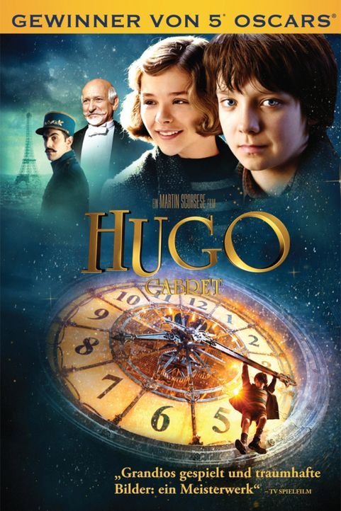 DIE ENTDECKUNG DES HUGO CABRET - Plakatmotiv - Bildquelle: 2011 GK Films.  All Rights Reserved.