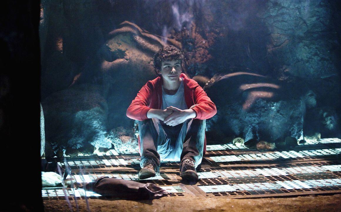 Ist von einem Alien gefangen genommen worden: Tyler (Joey Pollari). Können sein Bruder und das Ufo ihn retten? - Bildquelle: Disney