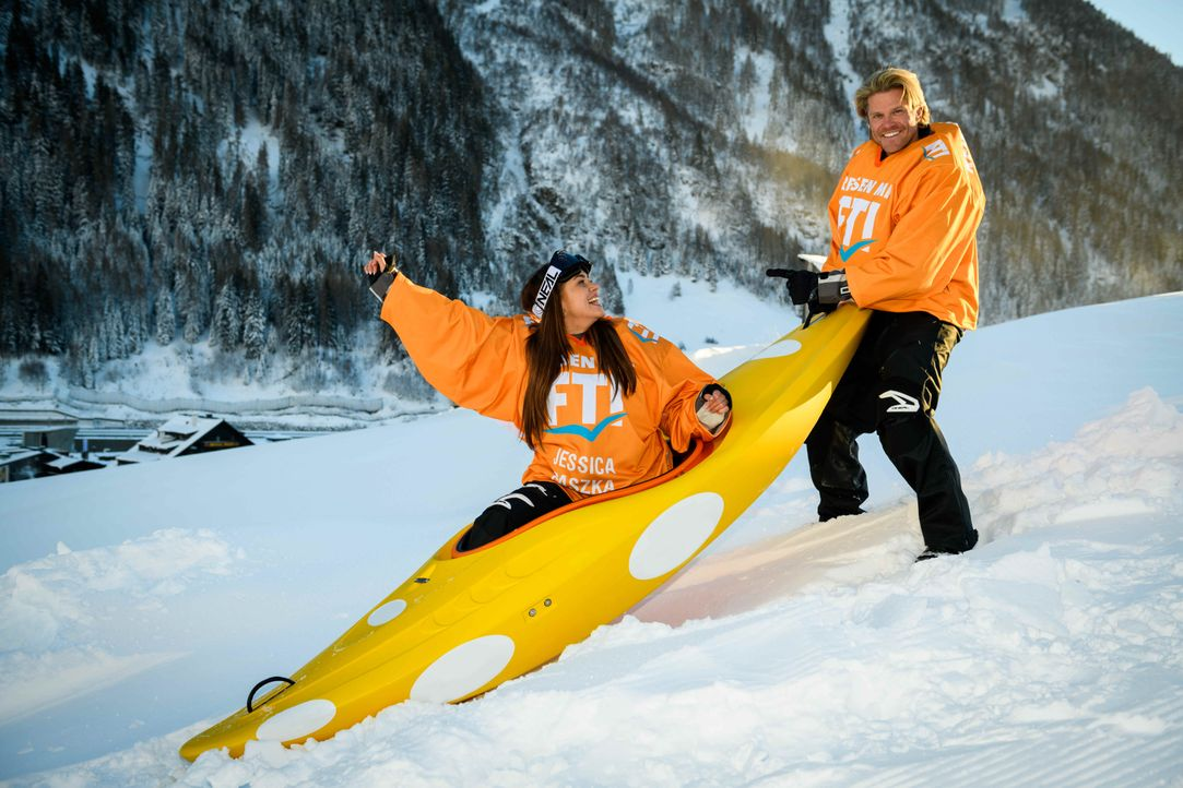 Jessica & Paul - Bildquelle:  ProSieben/Willi Weber