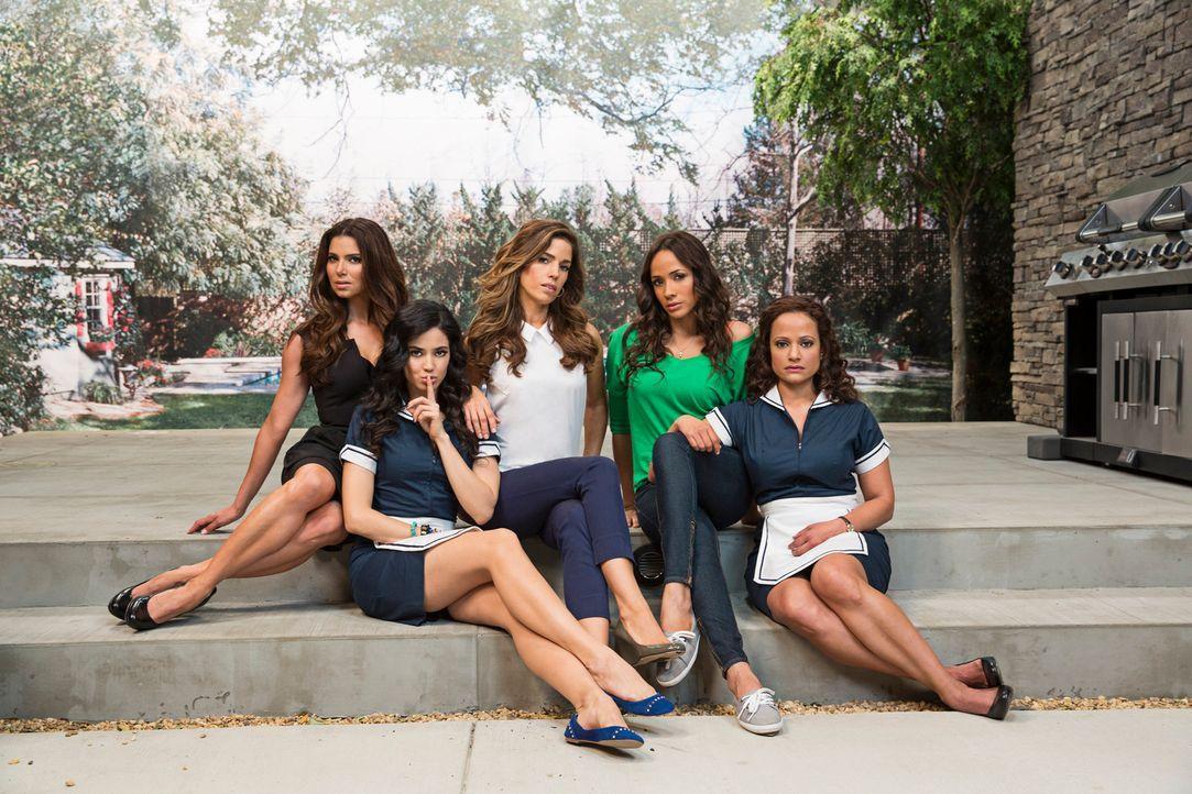 (1. Staffel) - Reich, reicher ... Beverly Hills. Idylle pur in der Nobelstadt. Doch der Schein trügt, und das wissen auch die Hausmädchen der Superr... - Bildquelle: ABC Studios