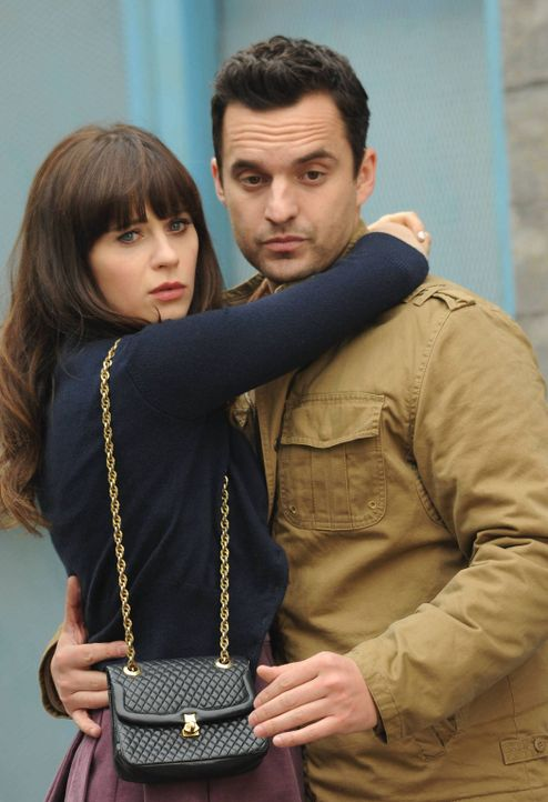 Das Leben könnte so schön sein, wenn da nur nicht Jess` (Zooey Deschanel, l.) und Nick`s (Jake M. Johnson, r.) Ex-Partner wären ... - Bildquelle: 2014 Twentieth Century Fox Film Corporation. All rights reserved.