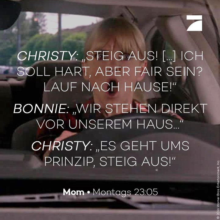 Christy und Bonnie - Staffel 4 Episode 5 - Bildquelle: 2016 Warner Bros. Entertainment, Inc.