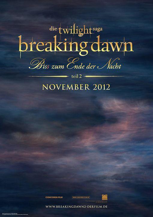 breaking-dawn-biss-nacht-teil2-teaser-plakat-concordejpg 989 x 1400 - Bildquelle: Concorde Filmverleih GmbH