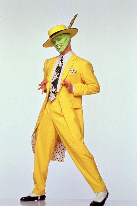 Stanley (Jim Carrey) findet sein neues Aussehen ganz passable ... - Bildquelle: Warner Bros.