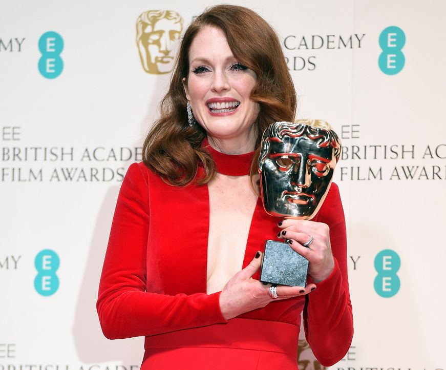 BAFTA-Julianne-Moore-15-02-08-dpa - Bildquelle: dpa