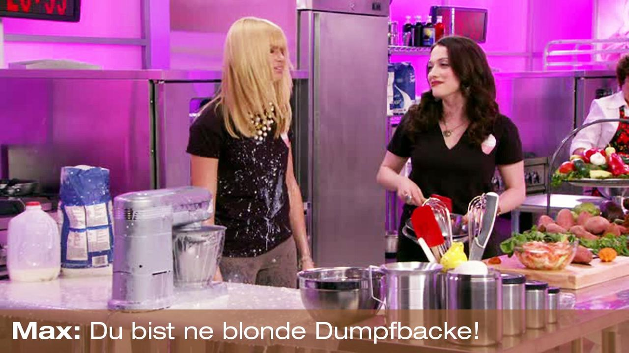 2-Broke-Girls-Zitat-Quote-Staffel2-Episode4-Cupcake-Wars-Max-Dumpfbacke-Warner 1600 x 900 - Bildquelle: Warner Brothers Entertainment Inc.