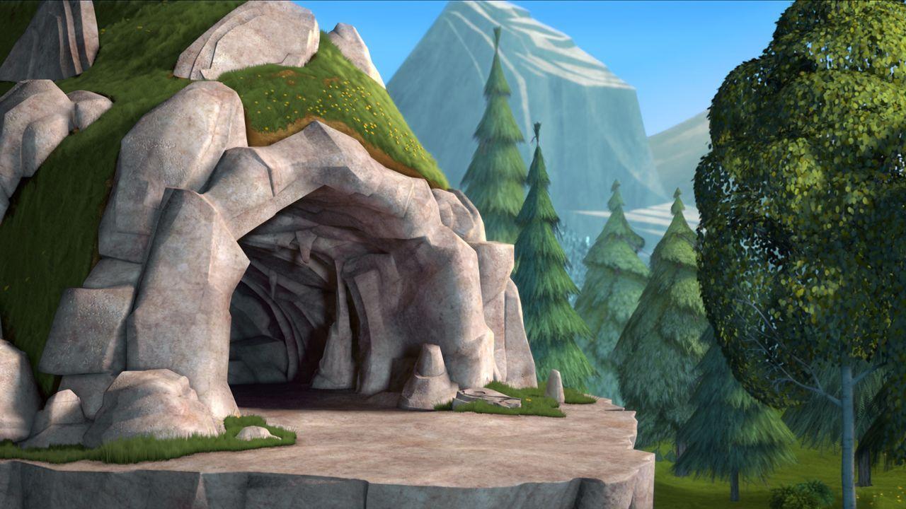 Frei sein, als richtig wilder Bär in der Wildnis leben, all das wünscht sich der Zirkusbär Doug schon ewig und ergreift seine Chance, als Boog zum Z... - Bildquelle: 2010 Sony Pictures Animation Inc. All Rights Reserved.