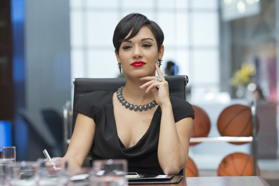 """Es gibt kein Wir, Cookie. Das ist mein Label"" - Anika (Grace Gealey) gibt im Meeting den Ton an ... - Bildquelle: 2015 Fox and its related entities.  All rights reserved."
