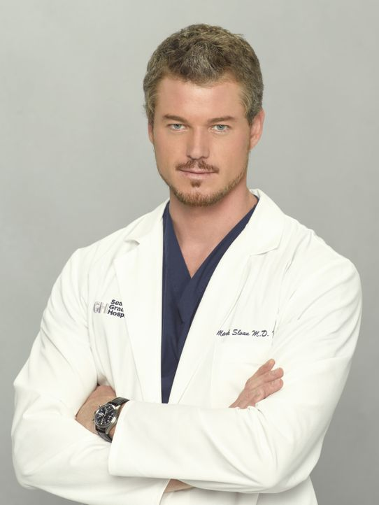 (5. Staffel) - Ein ebenso grandioser Arzt wie auch Liebhaber: Dr. Mark Sloan (Eric Dane) ... - Bildquelle: Bob D'Amico 2007 American Broadcasting Companies, Inc. All rights reserved. NO ARCHIVING. NO RESALE.