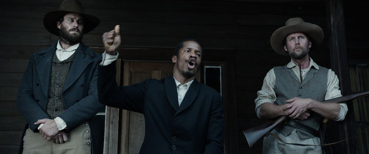 (v.l.n.r.) Samuel Turner (Armie Hammer); Nat Turner (Nate Parker); Earl Fowler (Jayson Warner Smith) - Bildquelle: 2016 Twentieth Century Fox Film Corporation.  All rights reserved.