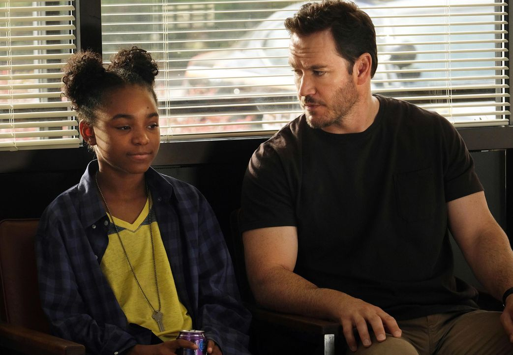 Amy Bellafonte (Saniyya Sidney, l.); Brad Wolgast (Mark-Paul Gosselaar, r.) - Bildquelle: Steve Dietl 2019 Fox and its related entities. All rights reserved. / Steve Dietl