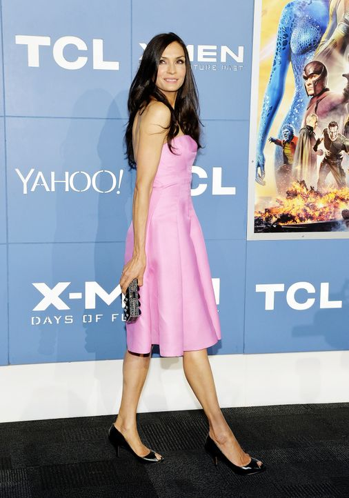 X-Men-Days-of-Future-Past-Premiere-New-York-Famke-Janssen-1-140510-getty-AFP - Bildquelle: getty-AFP