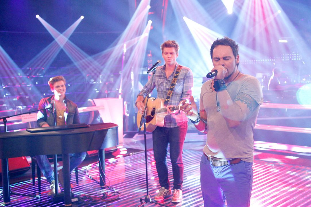 battle-rob-brueder-hain-04-the-voice-of-germany-richard-huebnerjpg 1700 x 1133 - Bildquelle: SAT.1/ProSieben/Richard Hübner