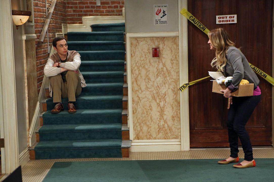 Während Sheldon (Jim Parsons, l.) von der Universität gezwungen wird, seinen Urlaub zu nehmen, aber mit sich in der freien Zeit nichts anzufangen we... - Bildquelle: Warner Brothers