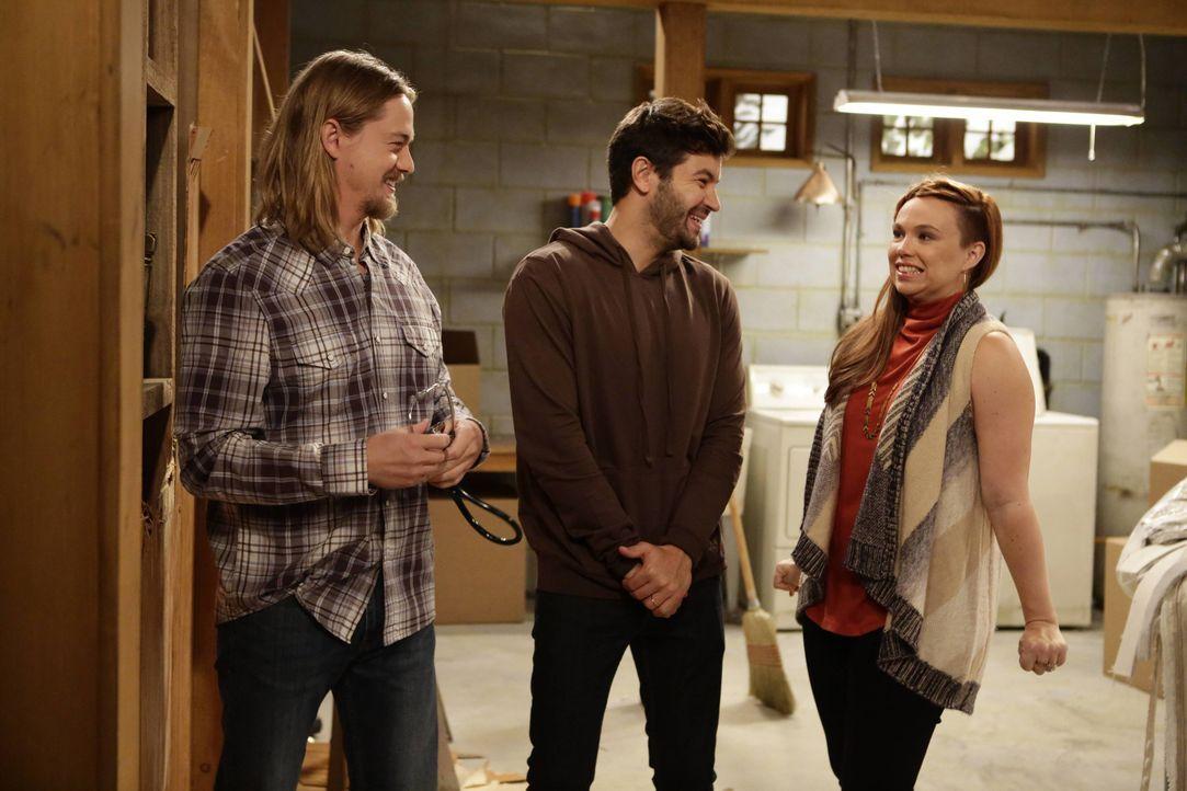 (v.l.n.r.) Kyle (Christoph Sanders); Ryan (Jordan Masterson); Kristin (Amanda Fuller) - Bildquelle: 2016-2017 American Broadcasting Companies. All rights reserved.