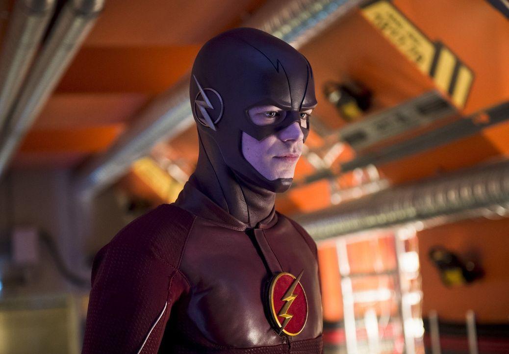 Noch ahnt Barry alias The Flash (Grant Gustin) nicht, dass seine Reise in die Vergangenheit alles andere als nach Plan verlaufen wird ... - Bildquelle: Warner Bros. Entertainment, Inc.