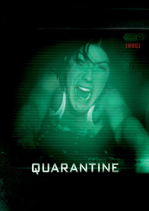 QUARANTÄNE - Plakatmotiv - Bildquelle: 2008 Screen Gems, Inc.  All rights reserved