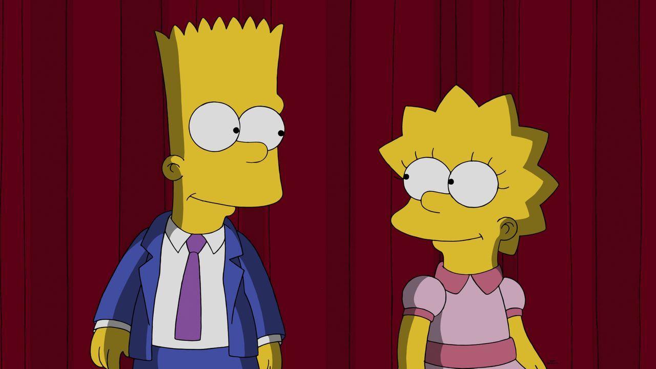 So war das nicht geplant: Das Lied, das Lisa (r.) und Bart (l.) für ihre Heimtstadt Springfield geschrieben haben, kommt nicht sonderlich gut an - z... - Bildquelle: 2014 Twentieth Century Fox Film Corporation. All rights reserved.