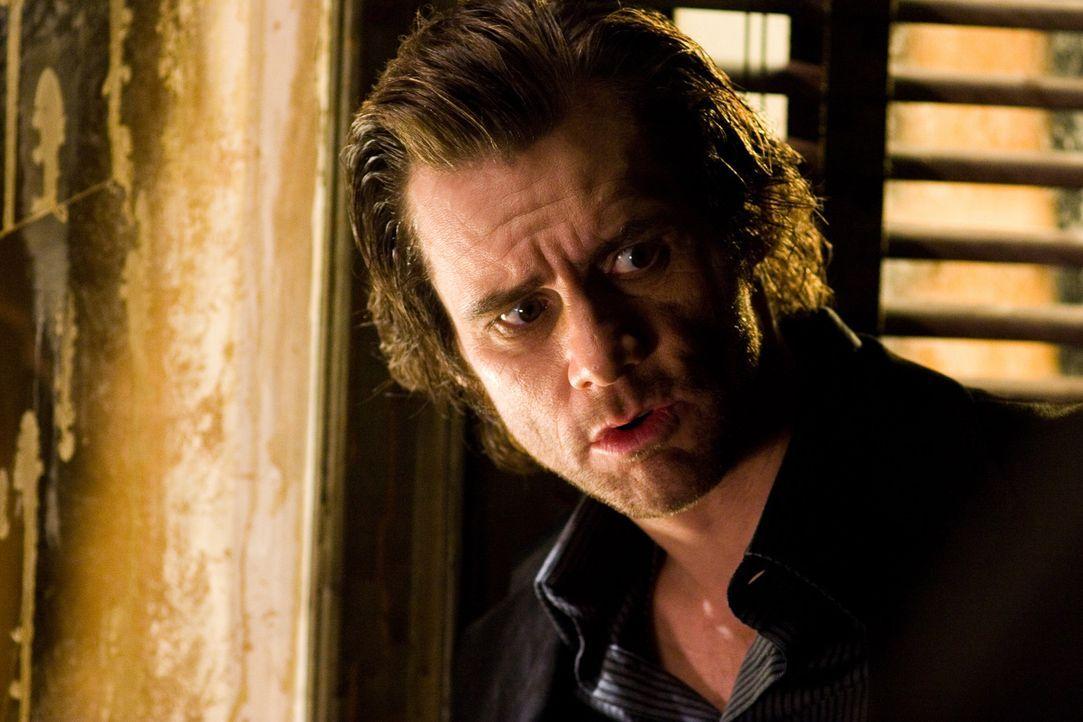 Schon bald beginnt Walter das neue Buch zu lesen und muss zu seinem Entsetzen feststellen, dass die Hauptfigur des Romans, Detective Fingerling (Jim... - Bildquelle: 2007 Warner Brothers