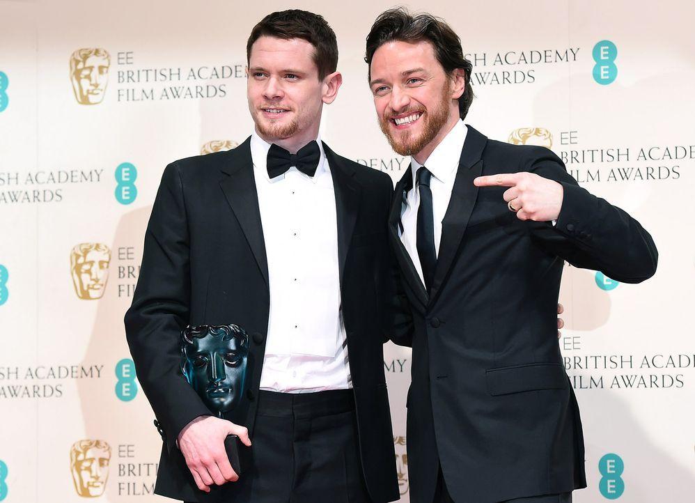 BAFTA-Jack-O-Connell-James-McAvoy-15-02-08-dpa - Bildquelle: dpa