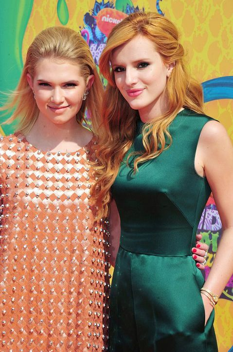 Kids-Choice-Awards-Claudia-Lee-Bella-Thorne-14-03-29-getty-AFP - Bildquelle: getty-AFP
