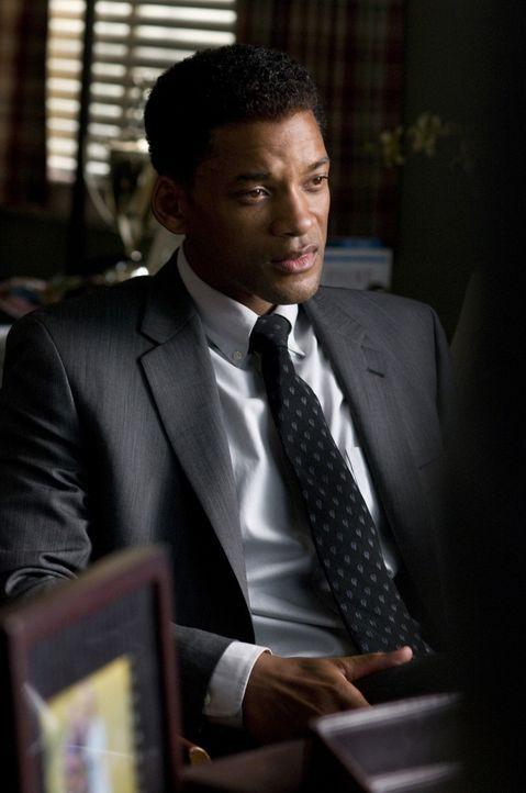 Will seinem Leben einen neuen Sinn geben: Der von großen Schuldgefühlen geplagte Ben Thomas (Will Smith) beschließt, sieben Menschen ein neues Le... - Bildquelle: 2008 Columbia Pictures Industries, Inc. and Beverly Blvd LLC. All Rights Reserved.