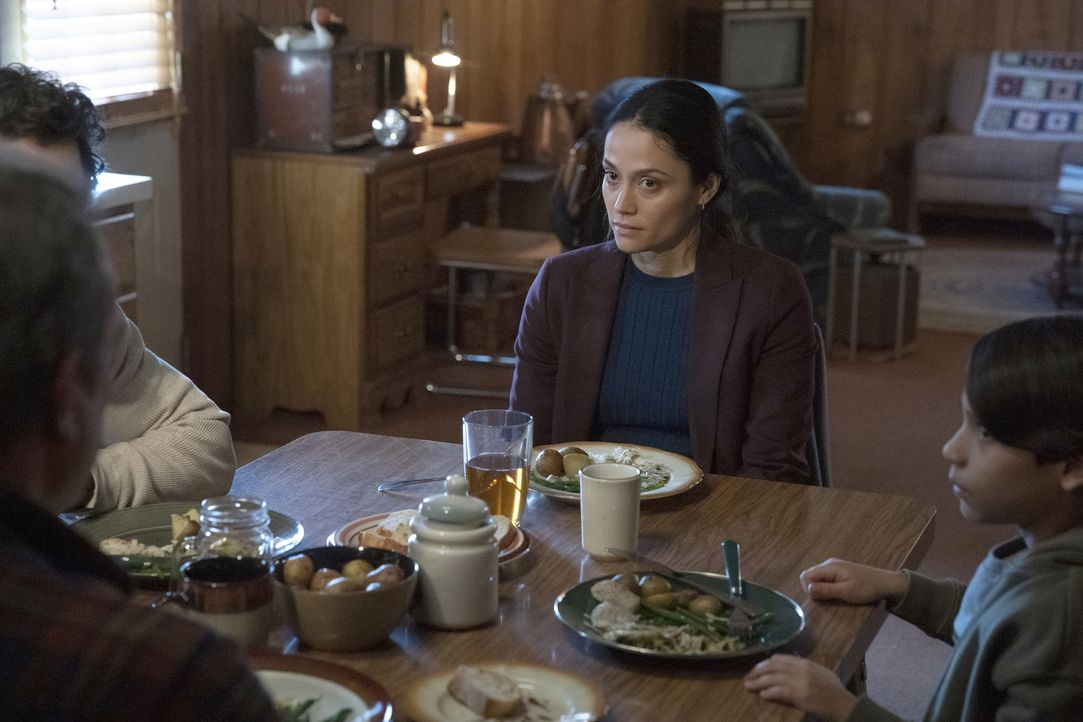 Shea Salazar (Fernanda Andrade, M.); Ethan Salazar (Evan Whitten, r.) - Bildquelle: Sandy Morris 2019-2020 Twentieth Century Fox Film Corporation.  All rights reserved / Sandy Morris