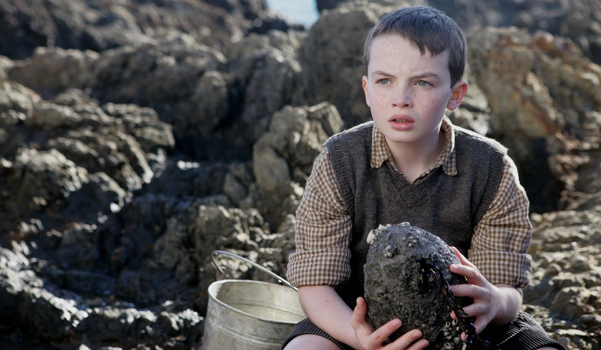 Eines Tages findet Angus (Alex Etel) ein merkwürdiges Ei am Strand, das er ohne zu zögern mit nach Hause nimmt - und versteckt ... - Bildquelle: CPT Holdings, Inc. All Rights Reserved. (Sony Pictures Television International)