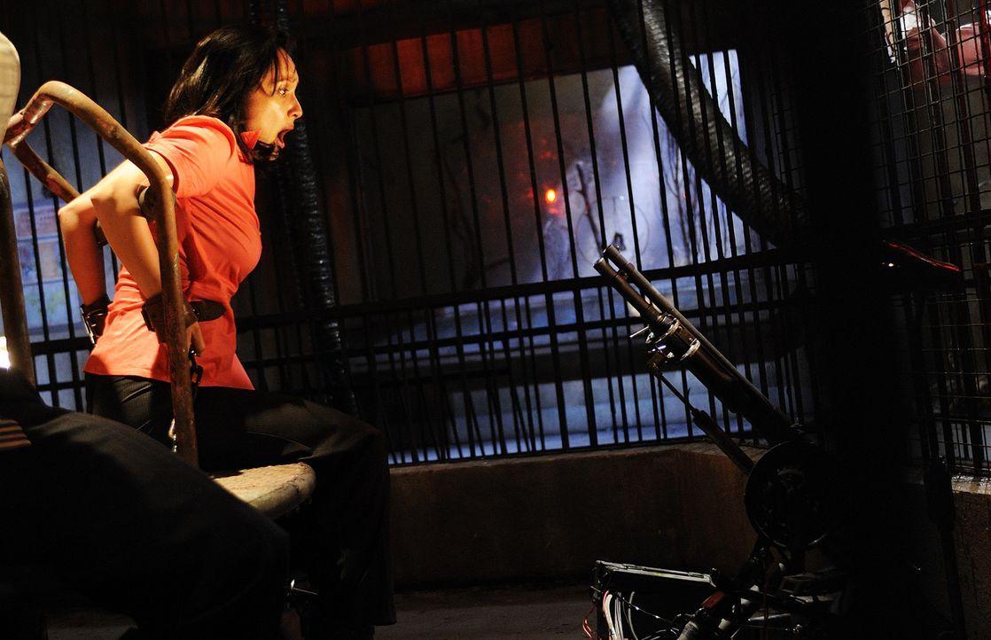 In der Hand eines Serienkillers mit moralischem Anspruch: Amanda (Shawnee Smith) ... - Bildquelle: Steve Wilkie Kinowelt GmbH