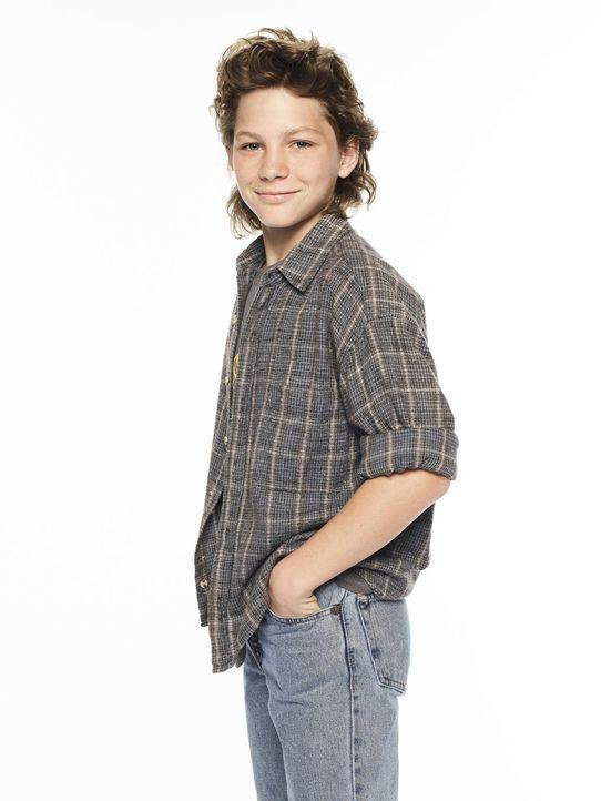 (1. Staffel) - Als Sportskanone der Familie ist Georgie (Montana Jordan) genau das, was sich sein Vater als Sohn immer erträumt hat. Dass er geistig... - Bildquelle: Warner Bros.