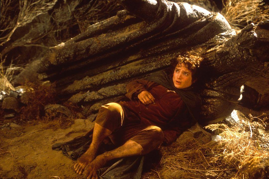 Beutlin entschließt sich, aus dem Auenland fortzugehen und vermacht seinem Neffen Frodo (Elijah Wood) einen geheimnisvollen Ring ... - Bildquelle: Warner Brothers