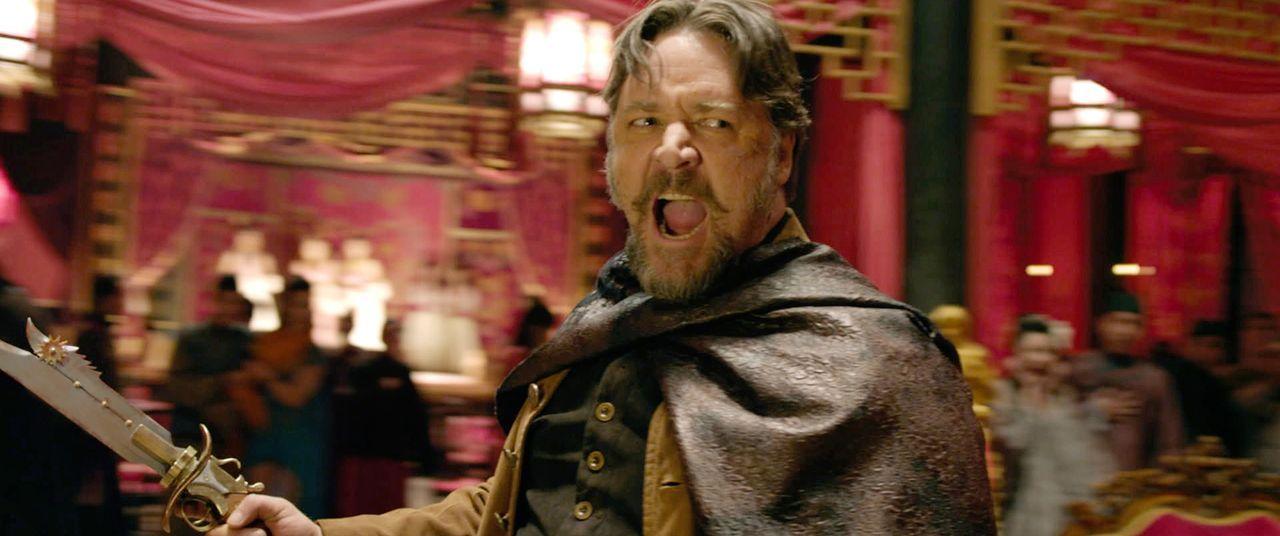 Als eines Tages der berüchtigte Jack Knife (Russell Crowe) im Dorf auftaucht, eskaliert die Situation ... - Bildquelle: Universal Pictures