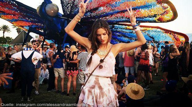 Coachella-Alessandra-Ambrosio-instagram-com-alessandraambrosio - Bildquelle: instagram.com/alessandraambrosio