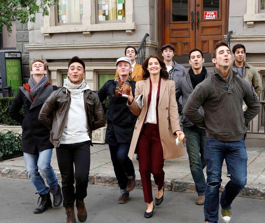 Seit Robin (Cobie Smulders, M.) ihren Verlobungsring trägt, hat sich ihr Leben verändert, denn nun wird sie nicht mehr wie früher von allen Männern... - Bildquelle: 2013 Twentieth Century Fox Film Corporation. All rights reserved.