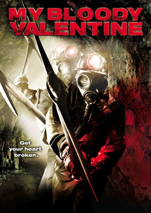 MY BLOODY VALENTINE - Plakatmotiv - Bildquelle: 2009 Lions Gate Films Inc. All Rights Reserved