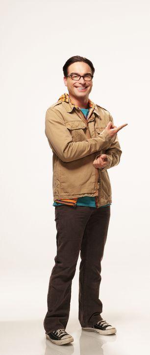 (4. Staffel) - Führt ein ganz besonderes Leben: Dr. Leonard Hofstadter (Johnny Galecki) ... - Bildquelle: Warner Bros. Television