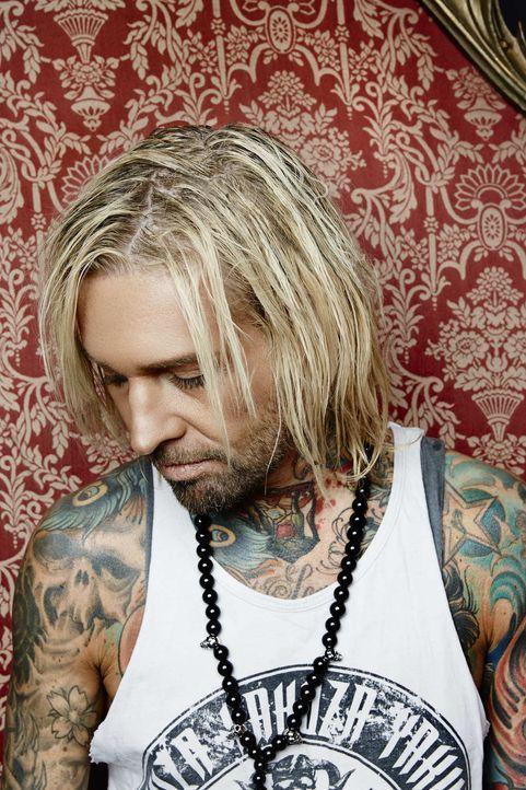 (1. Staffel) - Mick Marks Tattoos zieren sogar eine ganze Mode-Kollektion ... - Bildquelle: Jens Koch sixx