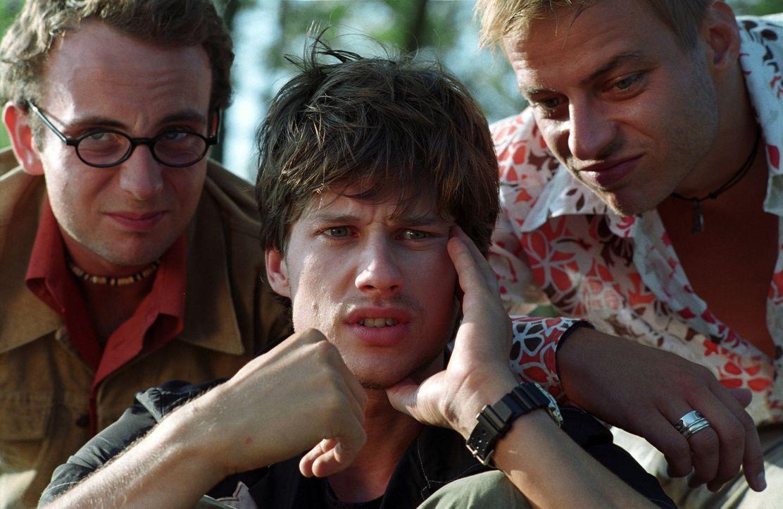 Haben Großes vor: Ben (Kristian Erik Kiehling, M.), Felix (Thomas Wlaschiha, r.) und Nick (Michael Krabbe, l.) ... - Bildquelle: Concorde Filmverleih GmbH