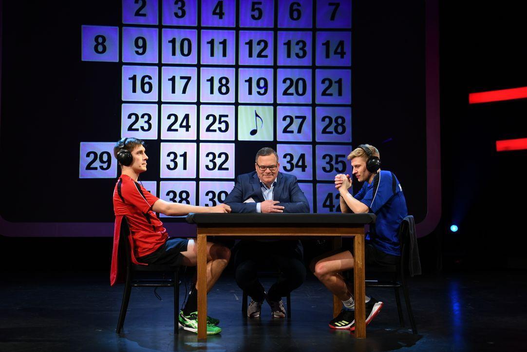 (v.l.n.r.) Robin; Elton; Hendrik - Bildquelle: Willi Weber ProSieben / Willi Weber