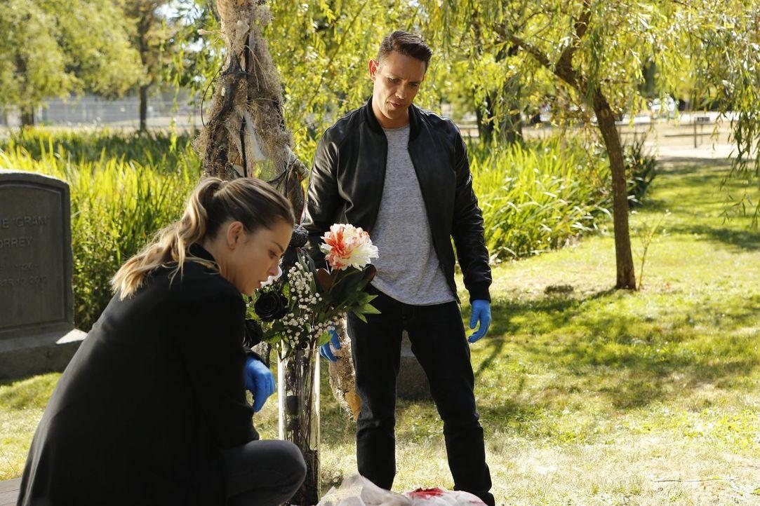 Geplagt von Schuldgefühlen, legt sich Lucifer bei den Ermittlungen immer wieder mit Chloe (Lauren German, l.) an. Entschließt diese sich schließlich... - Bildquelle: 2016 Warner Brothers