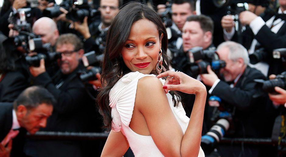 Cannes-Filmfestival-Zoe-Saldana-14-05-14-AFP - Bildquelle: AFP
