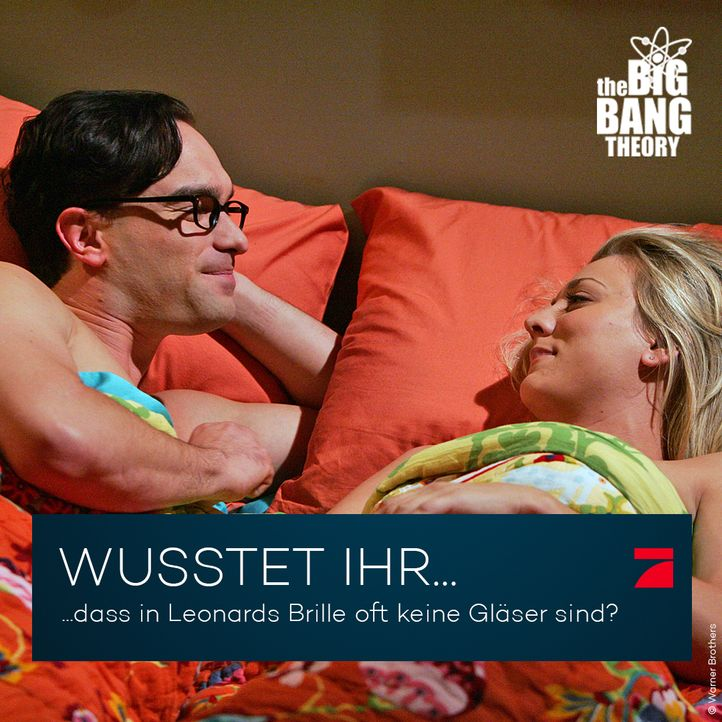 Big Bang Theory Trivia: Leonards Brille - Bildquelle: Warner Brothers