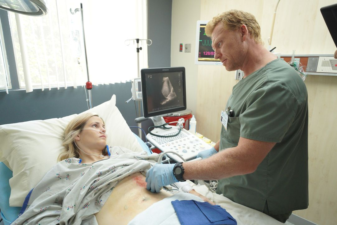Cassidy Gardner (Hayley Chase, l.); Dr. Owen Hunt (Kevin McKidd, r.) - Bildquelle: Byron Cohen 2019 American Broadcasting Companies, Inc. All rights reserved. / Byron Cohen