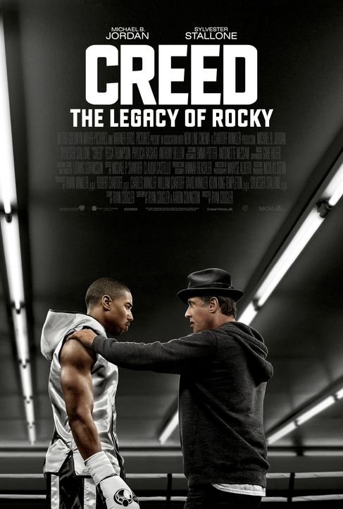 Creed - Rocky's Legacy - Plakat - Bildquelle: 2015 Warner Bros. Entertainment Inc. and Metro-Goldwyn-Mayer Pictures Inc.  All Rights Reserved.
