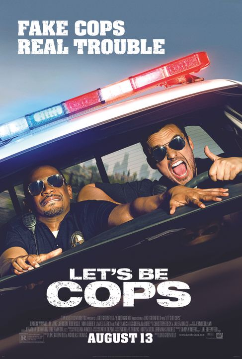 LET'S BE COPS - DIE PARTY BULLEN - Plakat - Bildquelle: 2014 Twentieth Century Fox Film Corporation.  All rights reserved.