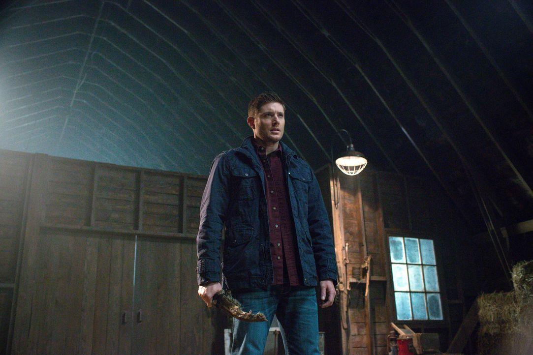 Als ein Gefangener auf mysteriöse Weise aus dem Todestrakt verschwindet, machen sich Dean (Jensen Ackles) und Sam auf die Suche nach dem, was wirkli... - Bildquelle: 2016 Warner Brothers