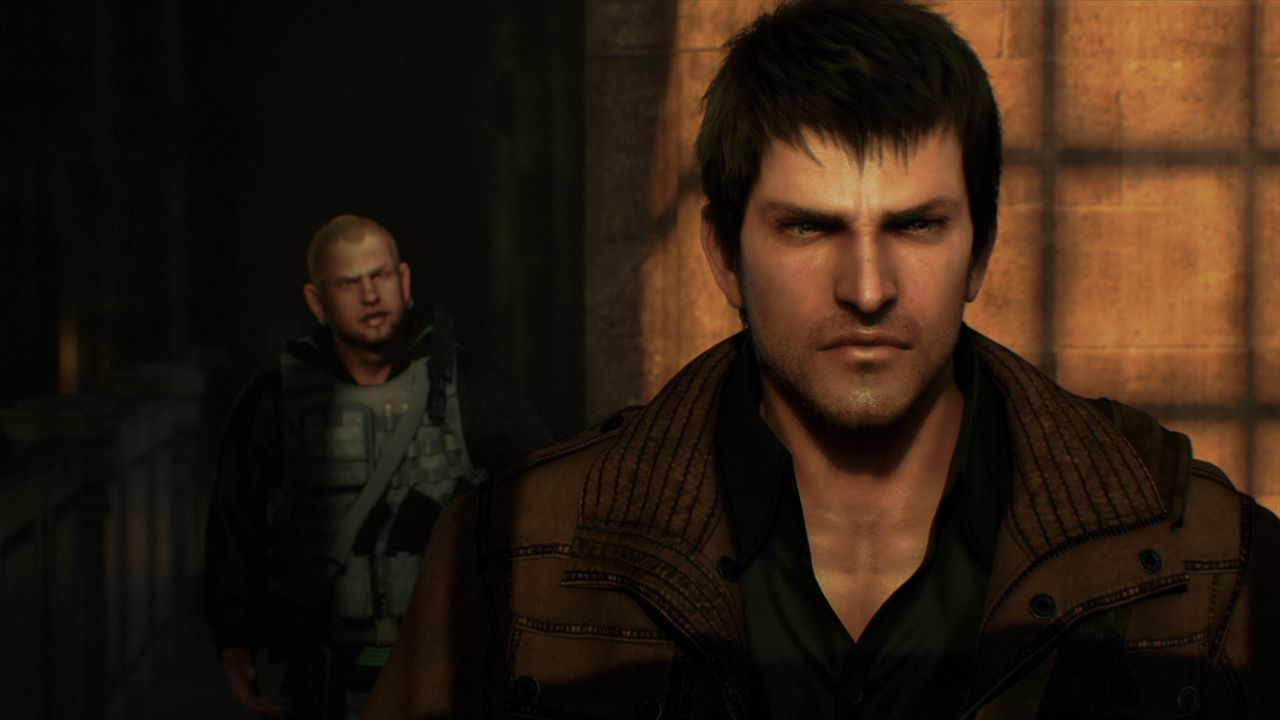 "Alexander ""Sasha"" Kozachenko (vorne r.), genannt Buddy, gehört ebenso wie J.D. (hinten l.) zu den Rebellen, die gegen die Willkür der Regierung der... - Bildquelle: 2012 Capcom Co., Ltd. and Resident Evil CG2 Film Partners. All Rights Reserved."