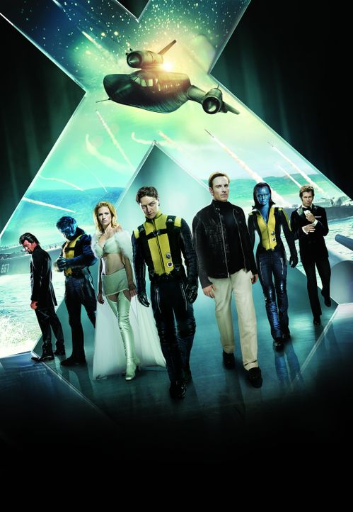 X-MEN: ERSTE ENTSCHEIDUNG - Artwork - Bildquelle: TM and   2011 Twentieth Century Fox Film Corporation, All Rights Reserved.